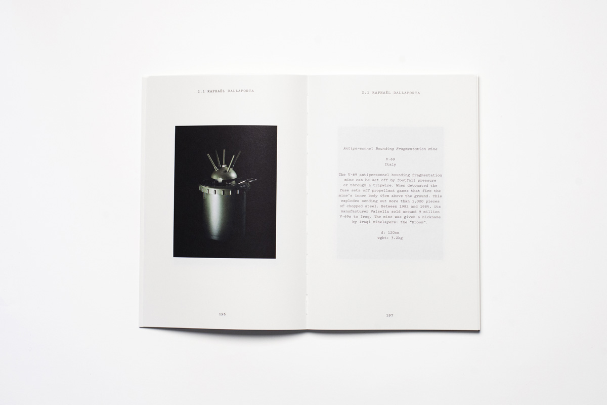 Chapter 2 - The Conflict of Images: Raphaël Dallaporta, Giorgio Di Noto, Monica Haller