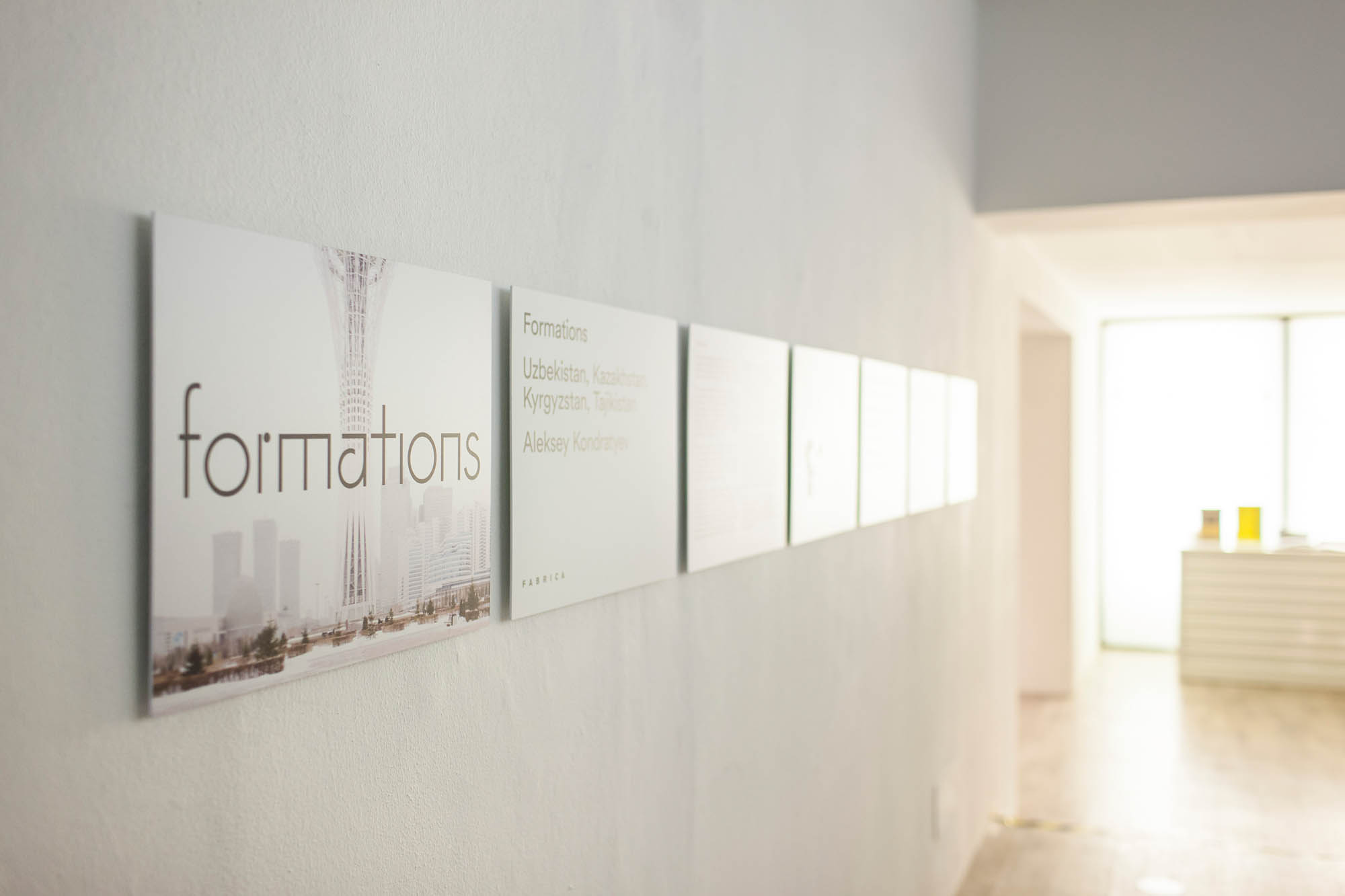 Aleksey Kontratyev, Formations, foto-forum, exhibition view